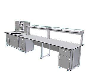 Bàn thí nghiệm áp tường BTN-AT07 được thị trường ưa chuộng.