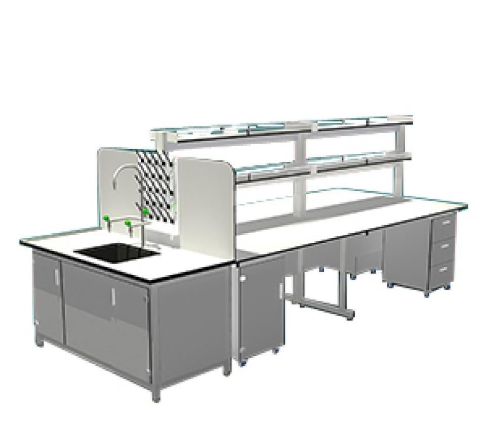 Bàn thí nghiệm trung tâm BTN-TT04 dùng cho phòng thí nghiệm