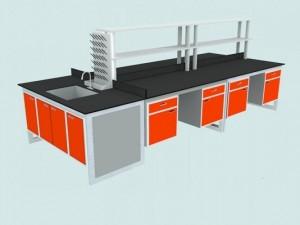 bàn thí nghiệm trung tâmkhung vuông