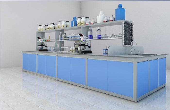 Bàn thí nghiệm trung tâm TT11 thi công tận chân công trình.