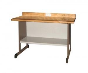Bàn thí nghiệm vật lý BTN-VL05 ngăn để đồ dưới bàn.