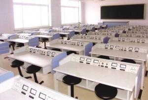 Bàn thí nghiệm vật lý BTN-VLLH2C dùng cho trường đại học, cao đẳng.
