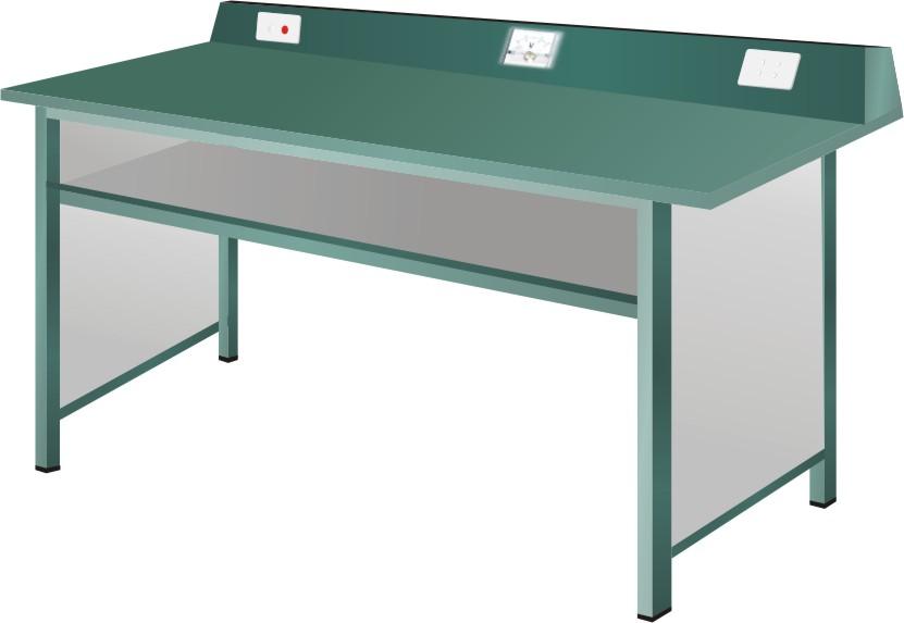 Bàn thí nghiệm vật lý BTN02 dùng cho học sinh hai chỗ ngồi.