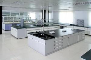 Bàn thí nghiệm thiết kế lắp đặt cho phù hợp với phòng thí nghiệm