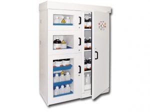 Tủ đựng hóa chất chuyên dụng chất lượng cao, bảo hành dài hạn.