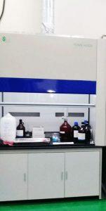 Tủ hút khí độc FH-315P lưu lượng lớn nhất phục vụ thí nghiệm.