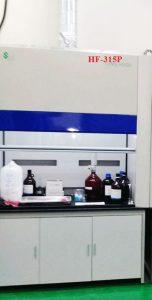 Tủ hút khí độc HF-315P lưu lượng lớn nhất phục vụ thí nghiệm.